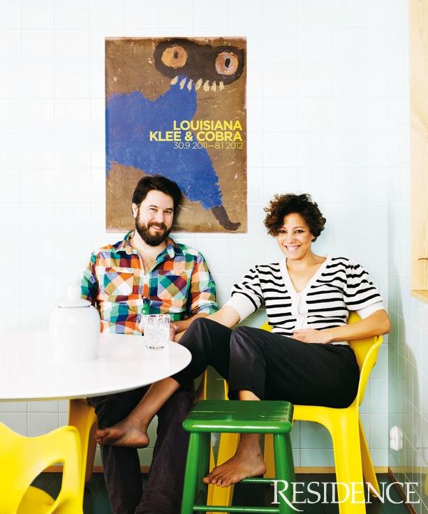 Daniel Heckscher and Jessica Folcker Residence magazine