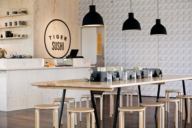 Tiger Sushi / Design - Joanna Laajisto / Photo - Milko Ryhänen | Design Studio 210