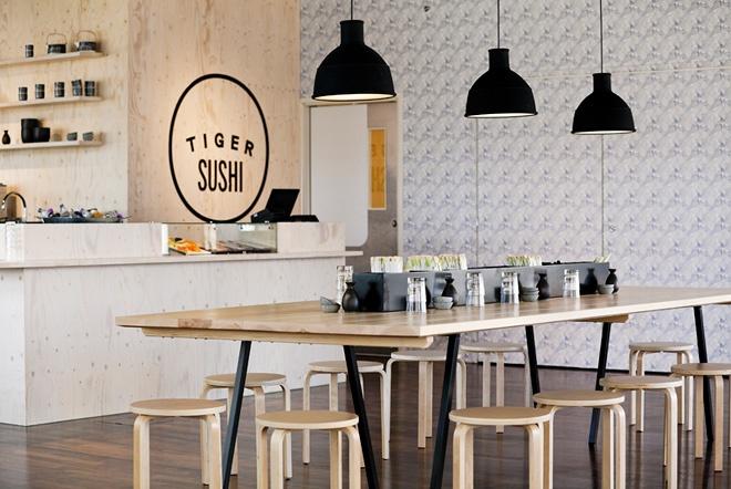 Tiger Sushi / Design - Joanna Laajisto / Photo - Milko Ryhänen | Design Studio 210