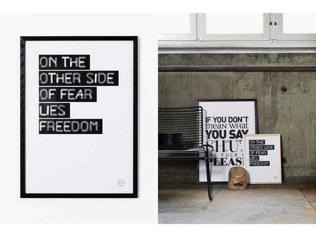 Therese Sennerholt Home : Therese sennerholt makes inspirational posters u scandinavian
