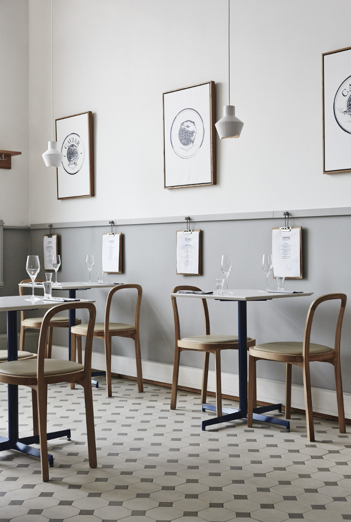 Caviar Restaurant Design in Helsinki by Joanna Laajisto Via Design Studio 210