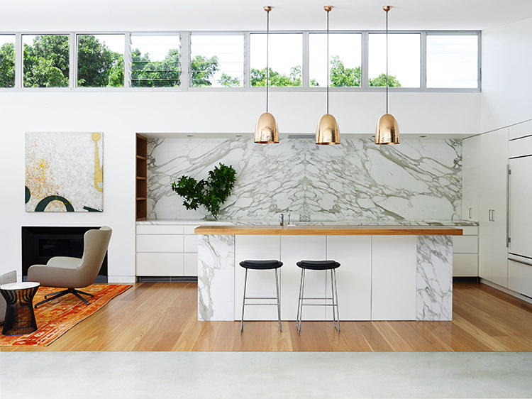 Arent And Pyke Interior Design With Marble via DesignStudio210