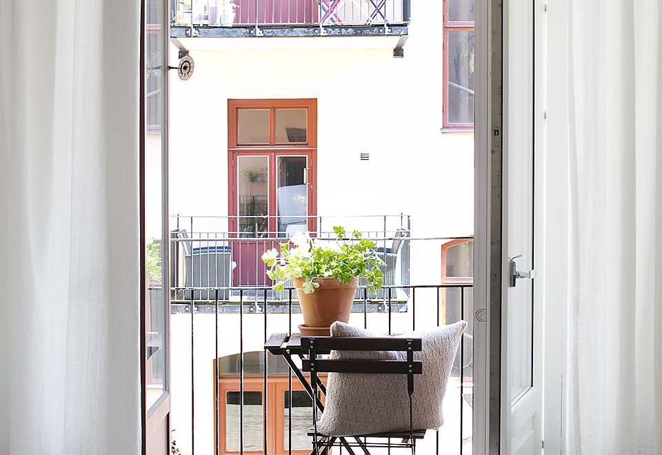 Fredagsmys: Swedish Apartment filled with green Plants
