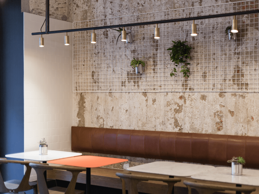 Nude Coffee and Wine Bar Designed by formbureau
