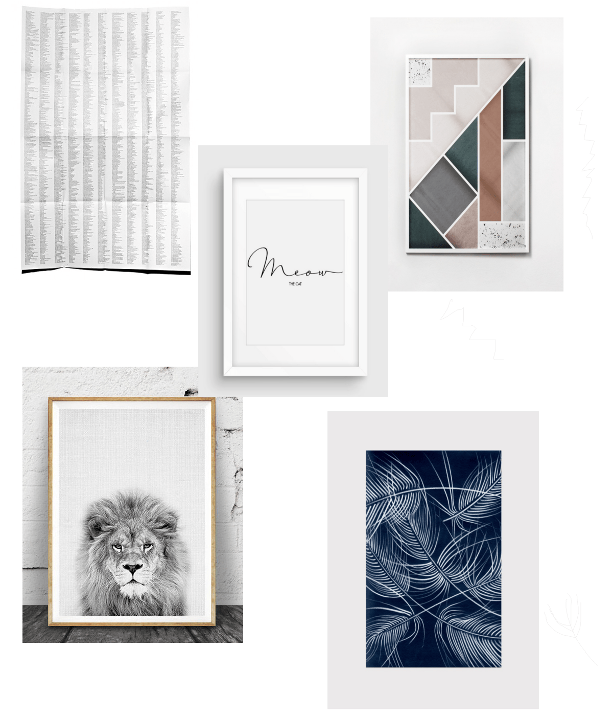 Poster and Print Gift Guide via Design Studio 210