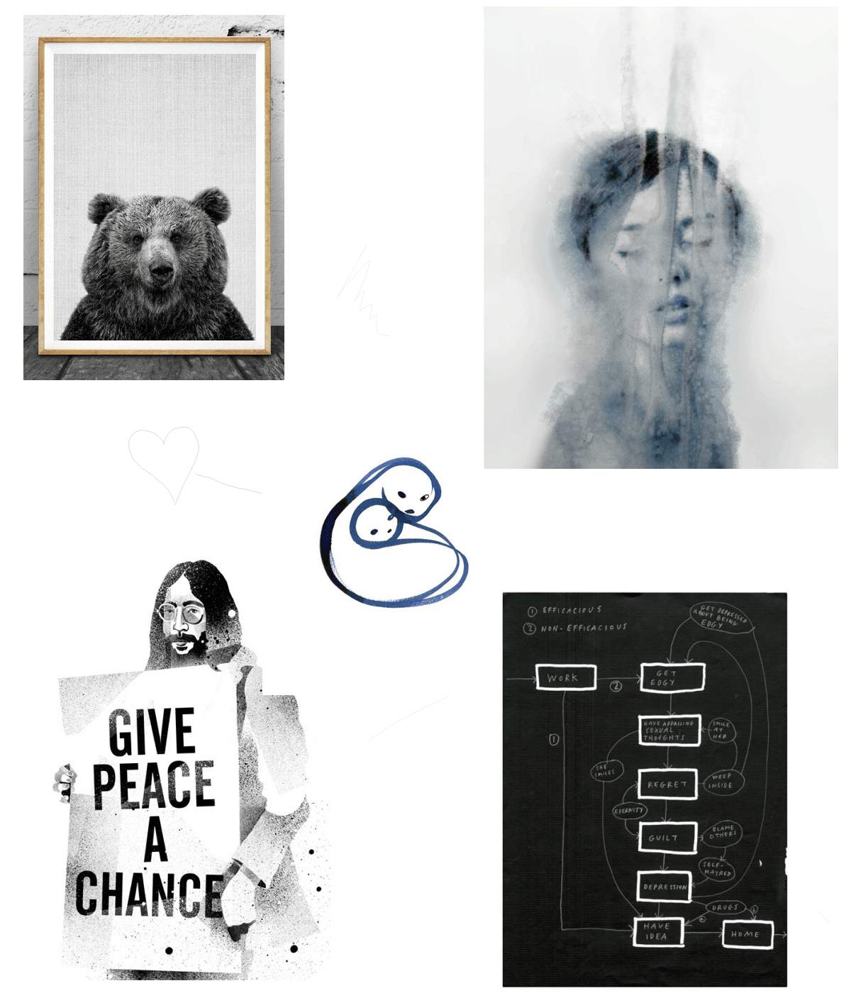 Poster and print gift guide 2015 via Design Studio 210