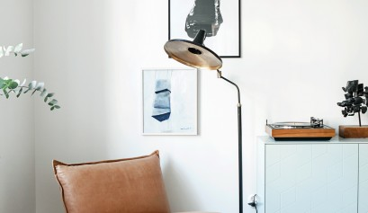 Scandinavian pastel interior design