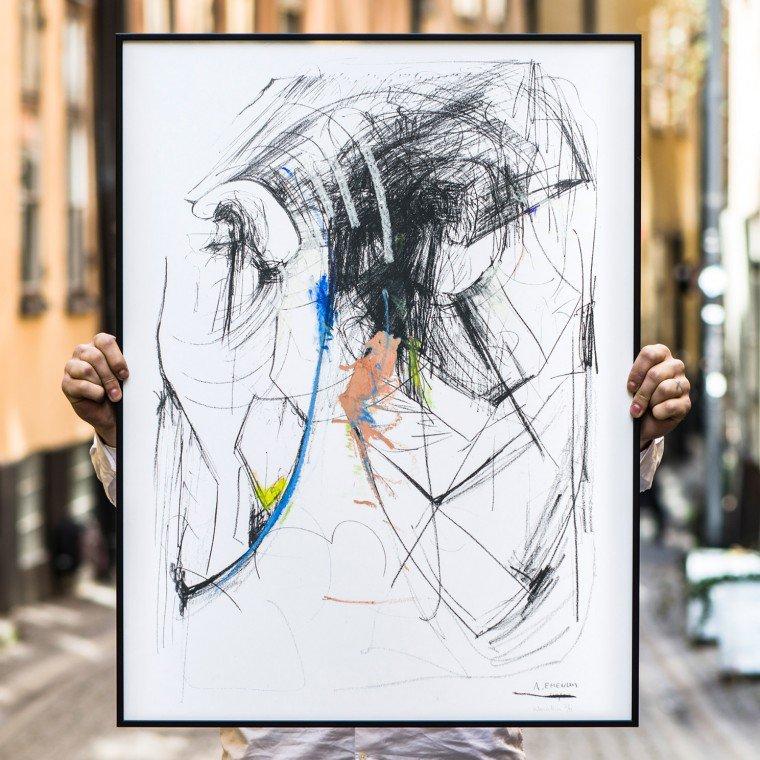 Future Head No. 3 by Andreas Emenius from Absolut Art via Design Studio 210