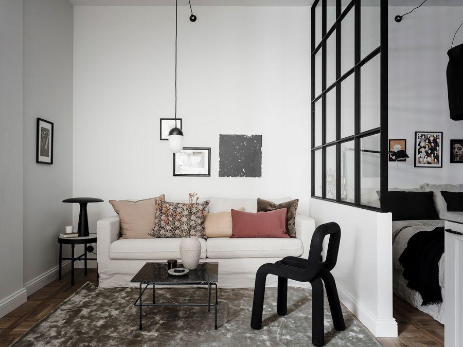 Small living apartment livingroom