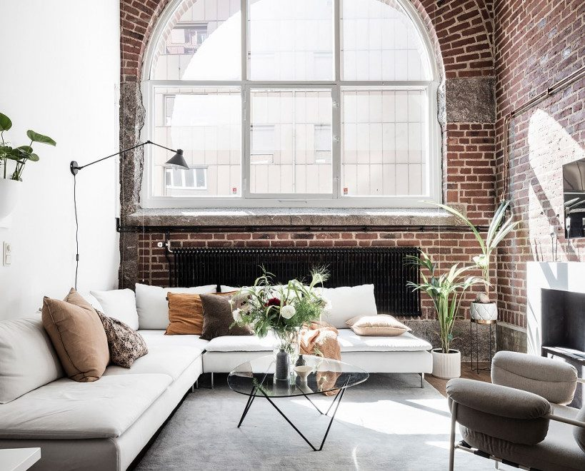 Swedish interior apartment